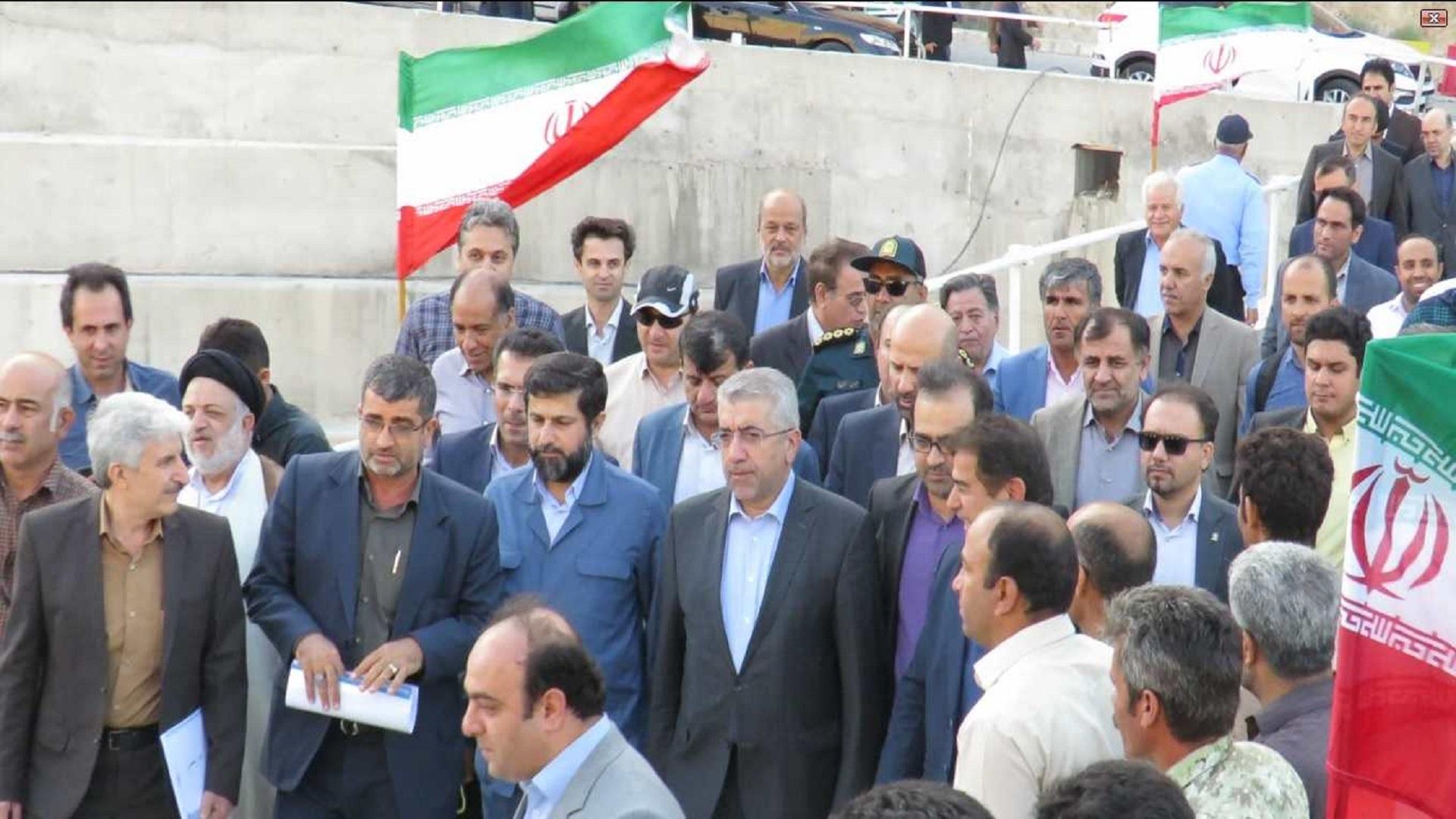 افتتاح سد تنظیمی آریوبرزن